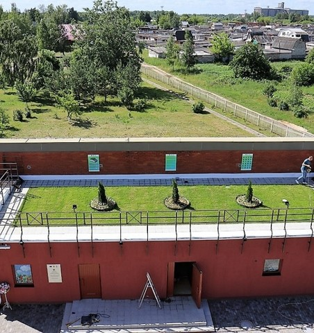 Mar'ina Horka Gymnasium is the first school in Belarus to embrace green design