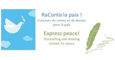 Express peace! Storytelling and drawing contest for peace