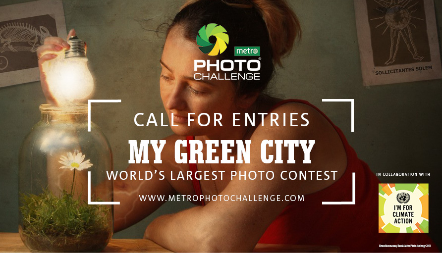 UN/METRO Photo Challenge on Climate Change: The world's largest photography competition