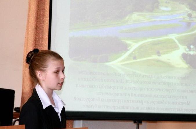 Belarusian students support the goals of the International Year of Water Cooperation